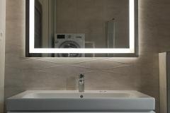 LED zrkadlo 100x80cm