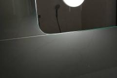 zrkadlo typu U detail